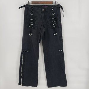 Tripp NYC Gothic Punk Vintage Cargo Jeans Pants
